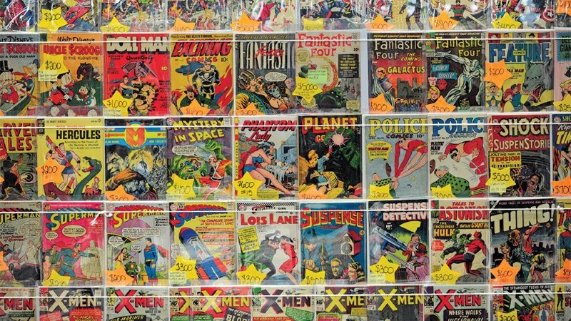 comics de superheroes marvel