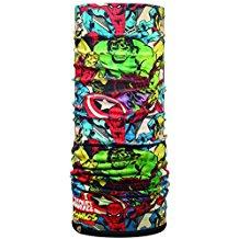 bufanda de superheroes con colores