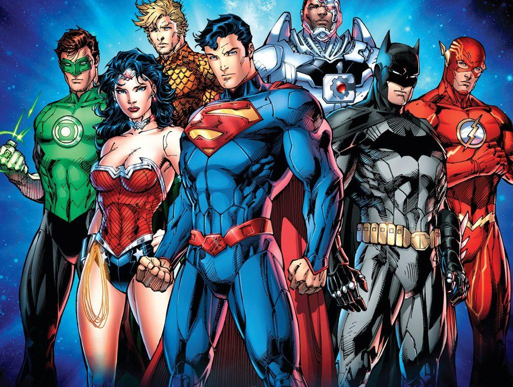 Grupo de superheroes de Dc comics