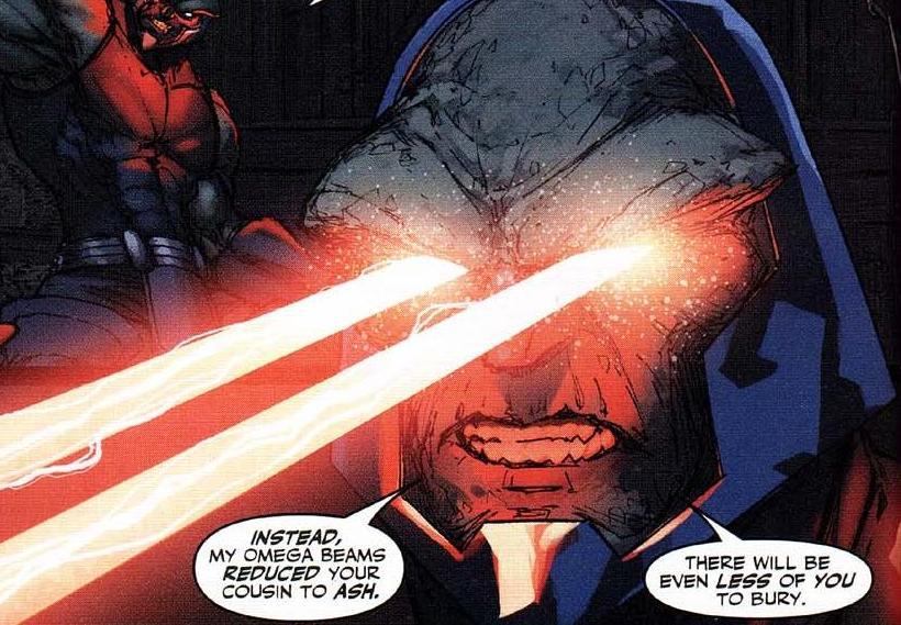Darkseid Vs thanos